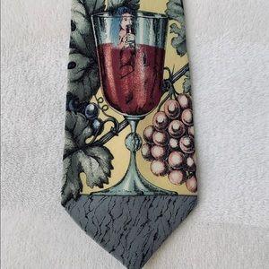 Fornasetti wine lovers tie